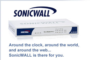 Sonic Wall internet security
